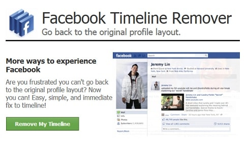 how to delete a timeline request on facebook