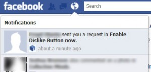 Enable the Facebook Dislike Button? Facebook's Latest Scam