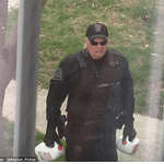 Boston Police Officer Delivers Milk Photo