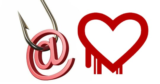 Watch out for Heartbleed password change phishing emails