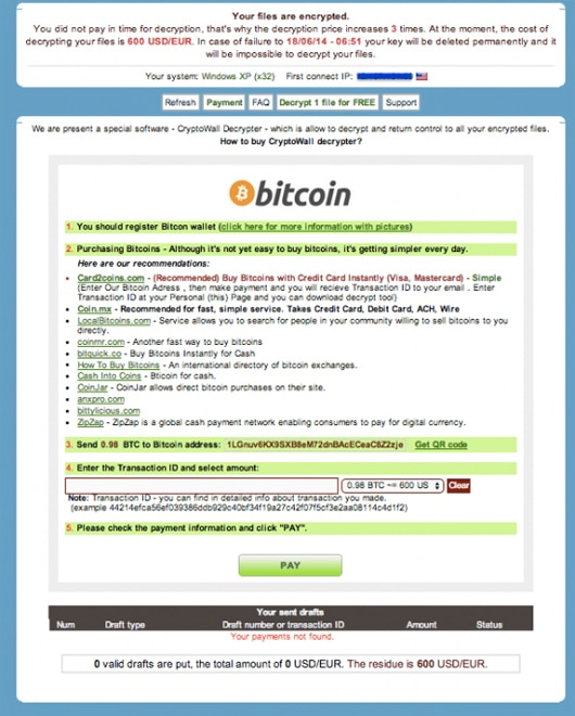 Still be on the watch out for aggressive ransomware