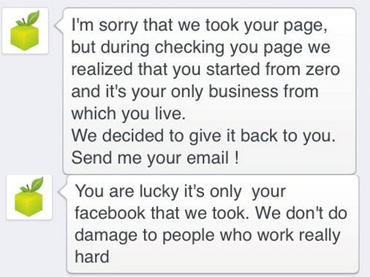 """Facebook Page admins beware of """"Verified Page"""" scam"""