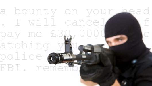 The Hitman Scam – the most audacious Internet scam?