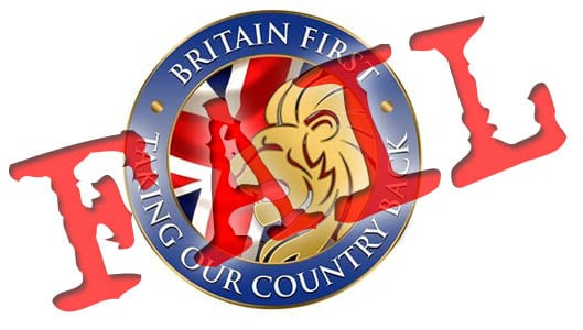 Britain First Fail: Group share fake image to followers