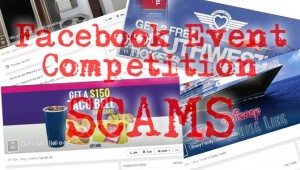 Facebook hit by surge of Event giveaway spam