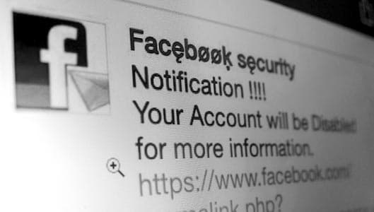 """""""Facebook Security"""" message – have you received one?"""