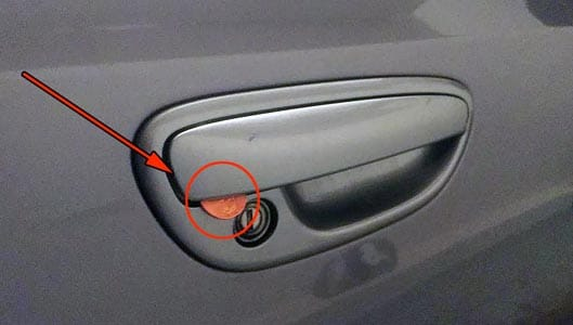 cool car door handles. Delighful Cool Can A Coin Jammed Into Car Handle Disable Central Locking   ThatsNonsensecom To Cool Car Door Handles T