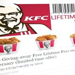 Is KFC giving free lifetime passes for 85th anniversary? SCAM