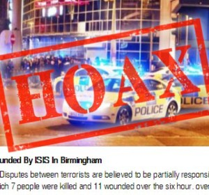 """""""7 Dead 11 Wounded"""" links about ISIS spread online"""