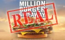 Yes, Jack in the Box are giving away 1 million burgers