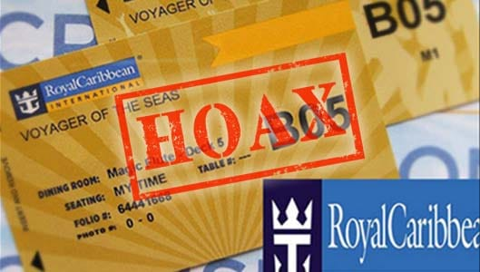 Will 85 people really win a Royal Caribbean cruise on Facebook?