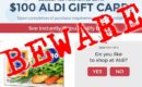Beware of Facebook gift card like & share scams