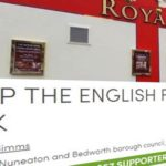 Hoax- Royal Oak pub in Nuneaton forced to cover St. George design?