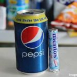 Does mixing Pepsi and Polo Mentos produce cyanide and death?