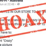 Win 10 minutes in a JB Hi-Fi store to go crazy? No chance