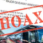 Win a RV for sharing a Facebook post? It's a scam