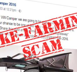 No, you won't win a 2016 VW Camper for sharing a Facebook post