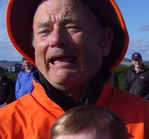 Tom Hanks or Bill Murray. No, really, it's Bill Murray.
