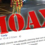 Are clowns purging on the night before Halloween? It's a hoax