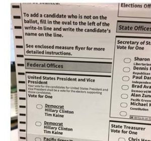 Are Oregon reallly omitting Trump from ballot paper? It's a hoax