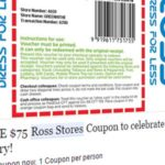 No, you can't get a $75 Ross Stores coupon for sharing a link on Facebook
