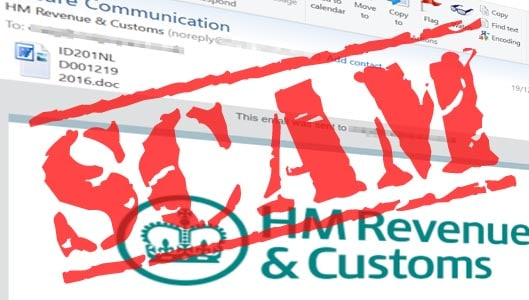 Beware of this convincing HMRC email malware scam