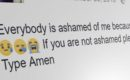 """If You're Not Ashamed, Please Share"" Facebook spam goes viral"