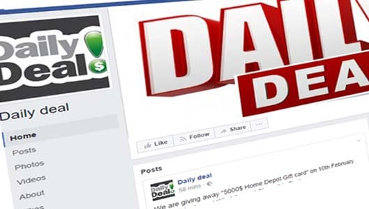 """Yes, the """"Daily Deal"""" Facebook Page is a scam"""