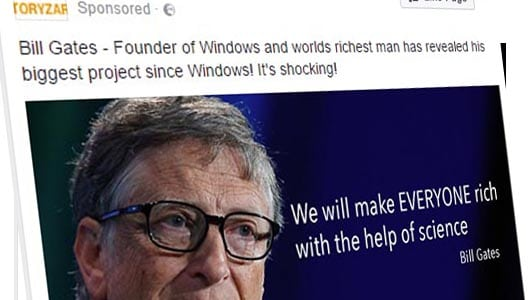 Latest get-rich-quick scam actually uses Bill Gates impersonator