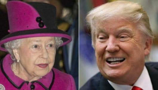 """Can the Queen kill President Trump and """"get away with it""""?"""
