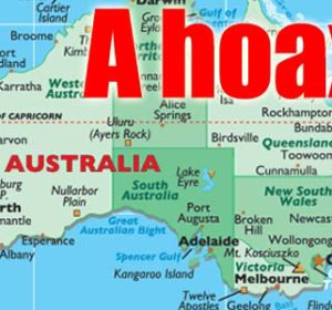 """Woman who said """"Australia is a hoax"""" fooled A LOT of people"""