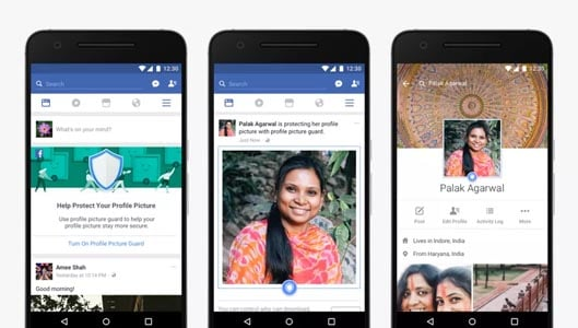 Facebook roll our feature designed to protect profile picture