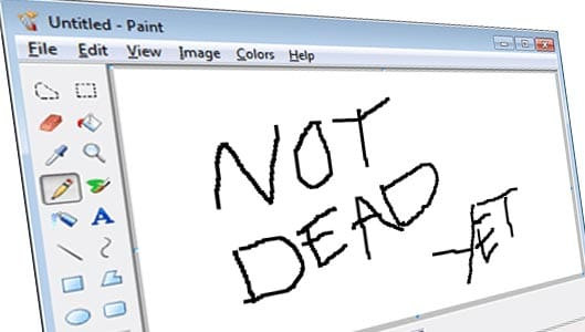 """Microsoft clear up confusion – MS Paint not quite """"dead"""" yet"""