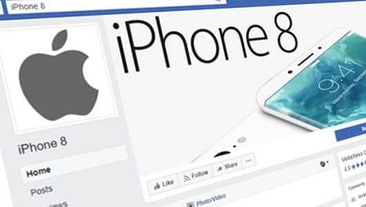 Fake Facebook pages claim you can win iPhone 8 for sharing a post