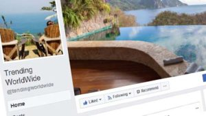 Facebook pages like Trending WorldWide are spammy, like-farming pages
