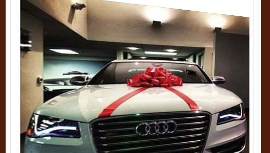 Facebook page claims you can win Audi Passion for sharing a post