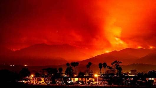 Illegal Muslim arrested for starting California wildfire? Fake News