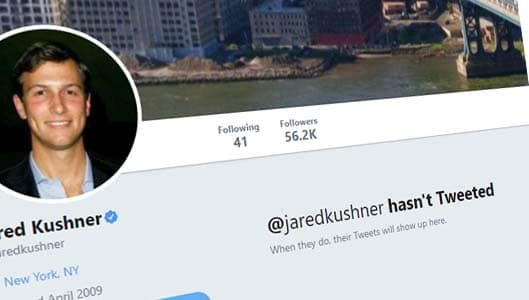 Has Jared Kushner deleted all his tweets? Fact Check