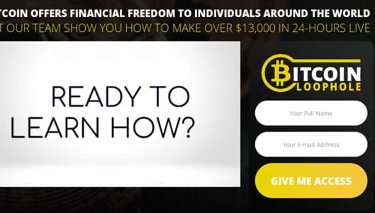 Should you trust the Bitcoin Loophole? No, it's a binary options scam