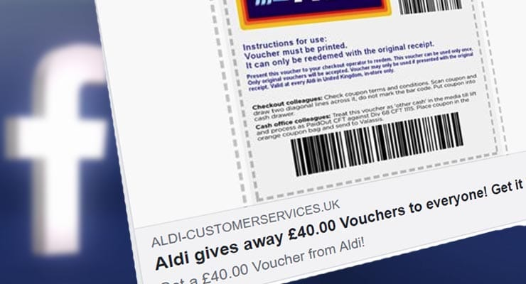 Watch Out For Aldi 40 Voucher Scam Spreading On Facebook