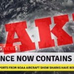 Is Hurricane Florence picking up sharks? Fact Check