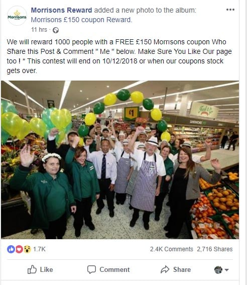 Morrisons coupons